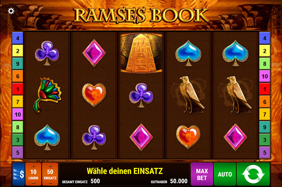 Ramses Book Easter Egg Slots Machine