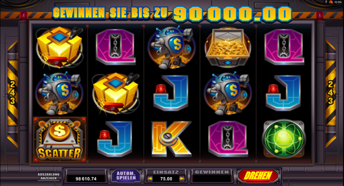 robo-jack spielautomat