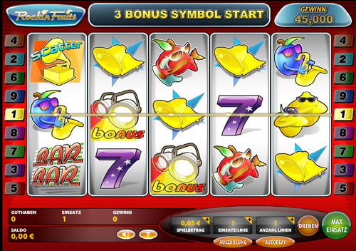 online casino slot spiele fruits