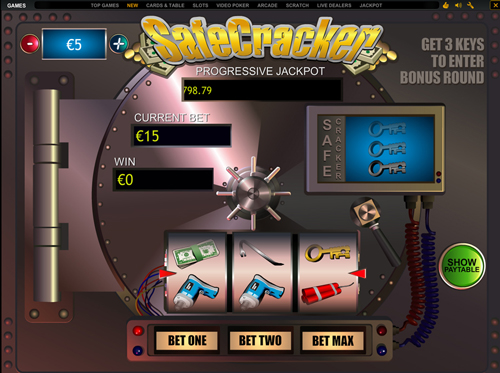 safecracker online slot im eurogrand casino