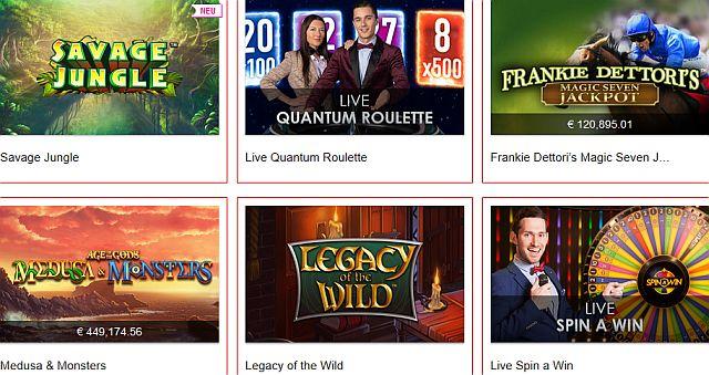 Swiss Casino Spiele