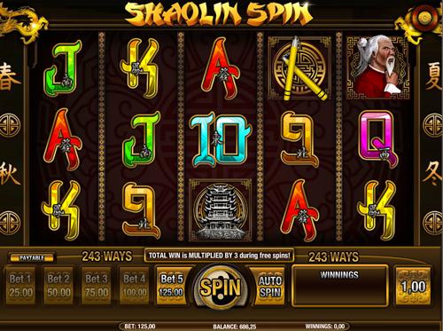 shaolin-spin automatenspiel