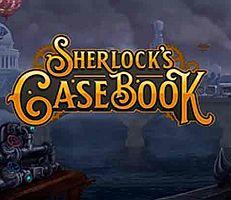 Sherlock's Casebook Slot Logo