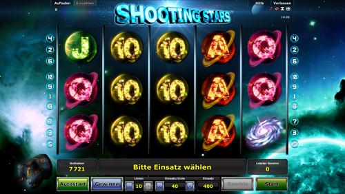 shooting-stars novoline spiel