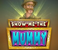 Show me the Mummy Slot Logo
