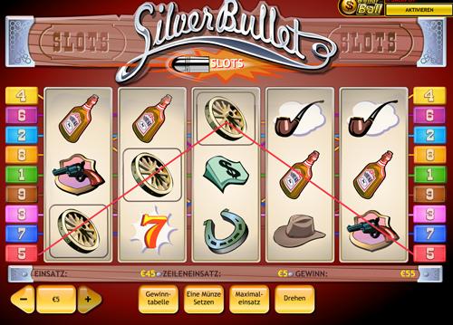 Spielen sie Silver Bullet Automatenspiele Online bei Casino.com Österreich
