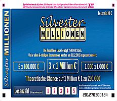 Silvester Lotto in Deutschland