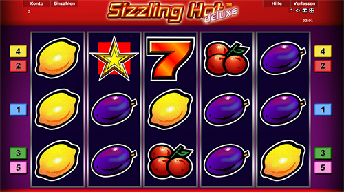 online internet casino sizzling hot spielen