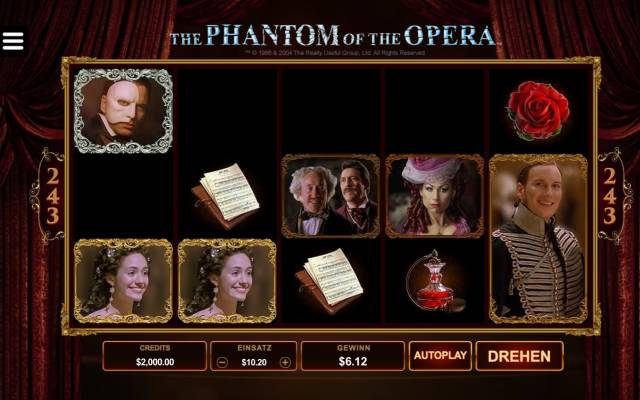The Phantom of the Opera Spiel