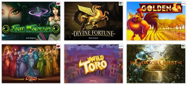 Empfehlenswerte Spiele bei Sloty