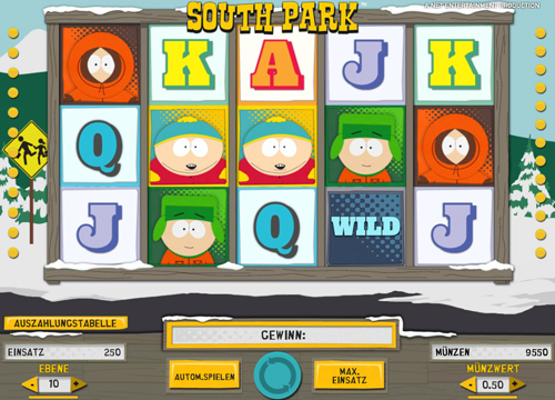 south park slot spielen