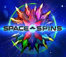 Space Spins Logo