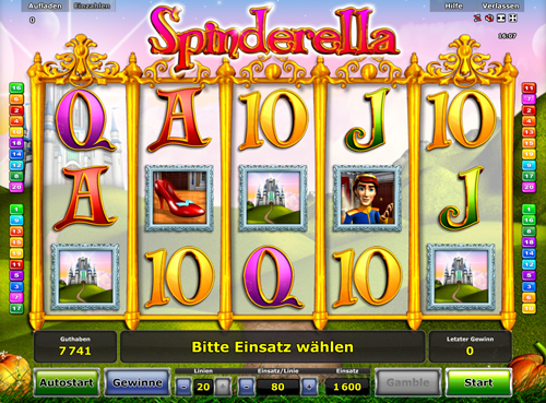 online casino strategy spinderella