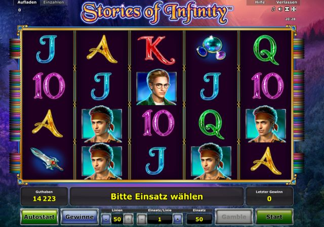 Stories of Infinity Novoline