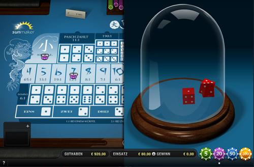 online casino sunmaker sic bo