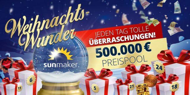 Sunmaker Weihnachtsaktion 2017