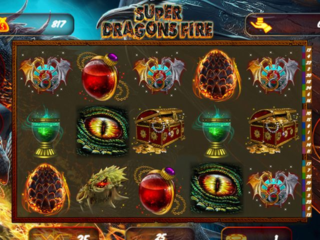 Super Dragons Fire Spielautomat