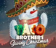 Taco Brothers saving Christmas Slot Logo