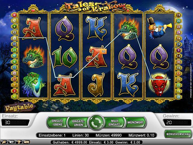 Tales of Krakow - Gratis spelautomat online