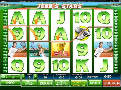 tennis stars online slot im winner casino