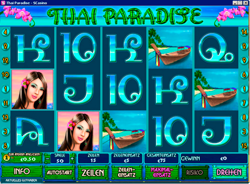 Paradise Suite slots online - Spela gratis casinospel