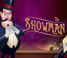 The Showman Slot Logo