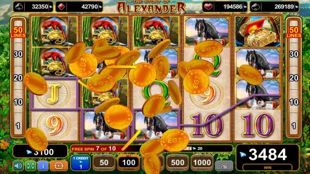 online mobile casino story of alexander