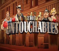 The Untouchables Slot Logo