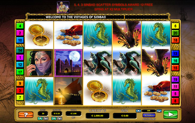 the-voyages-of-sinbad-slot