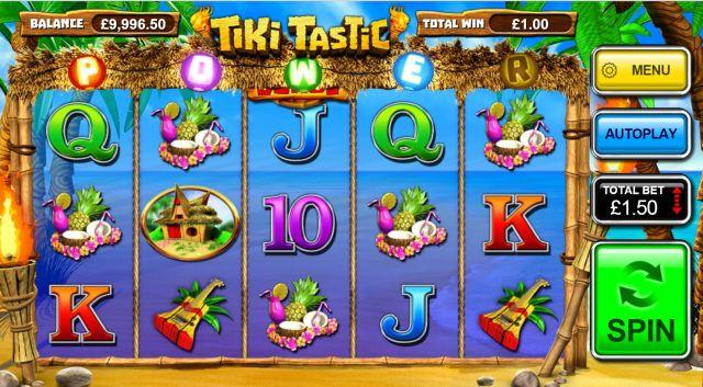 Tiki Tastic Spielautomat