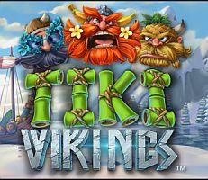 Tiki Vikings Logo