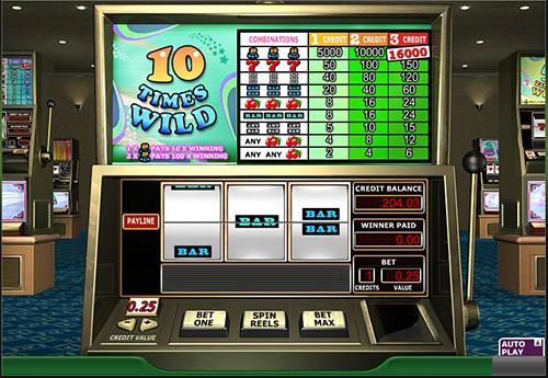 10 times wild slot im 888 online casino