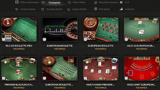 tische casino-cruise