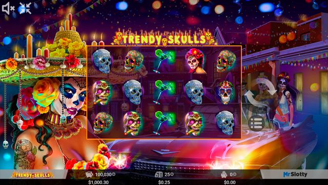 Trendy Skulls Spielautomat