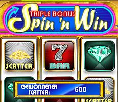 Triple Bonus Spin `n Win