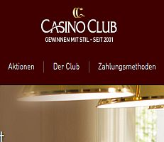 Umbau im Casino Club
