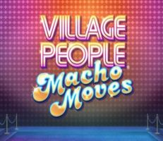 Village People Macho Moves Slot Logo