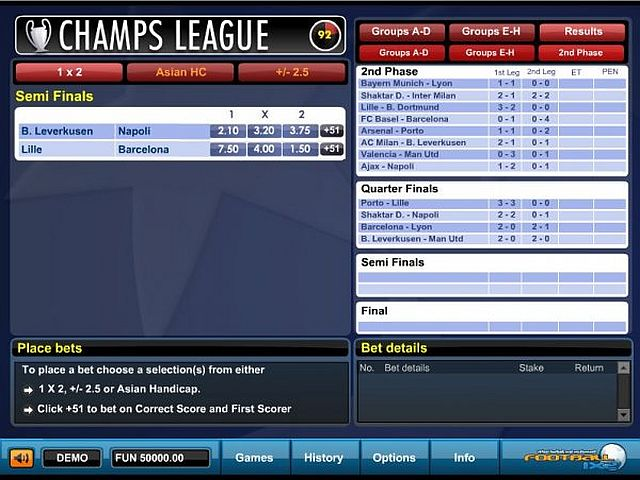 casino spiele online champions football