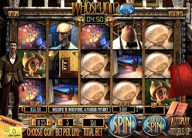 Whospunit Spielautomat