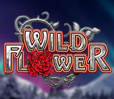 Wild Flower Slot Logo