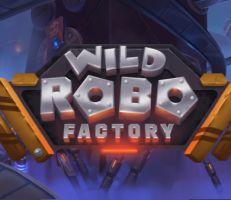 Wild Robo Factory Slot Logo