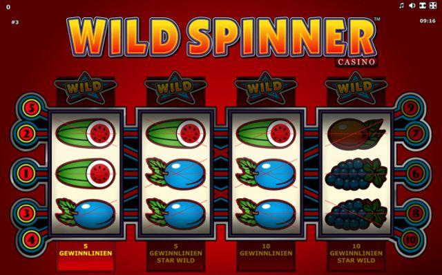 Wild Spinner Vorschau