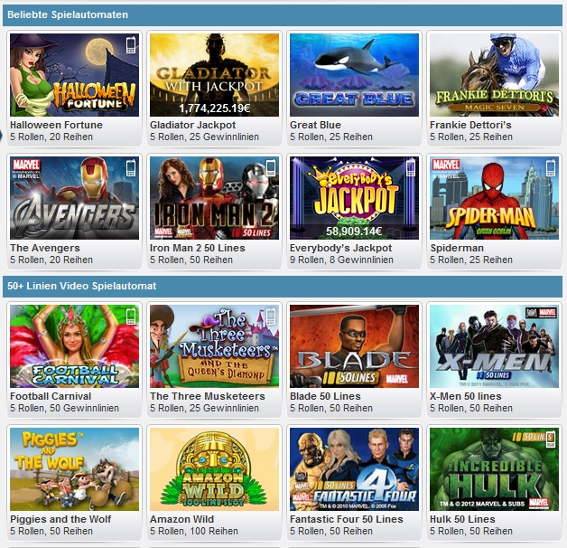 william hill online casino spielautomat