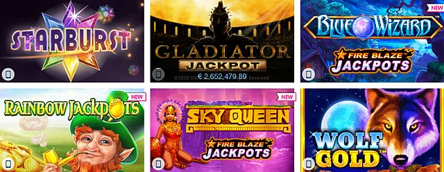 Winner Casino Spielangebot
