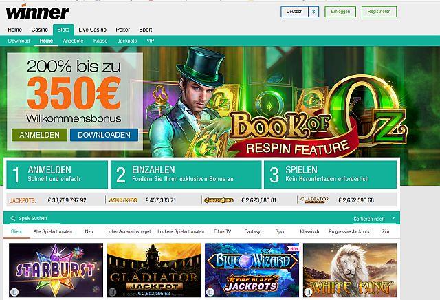 Winner Casino Start