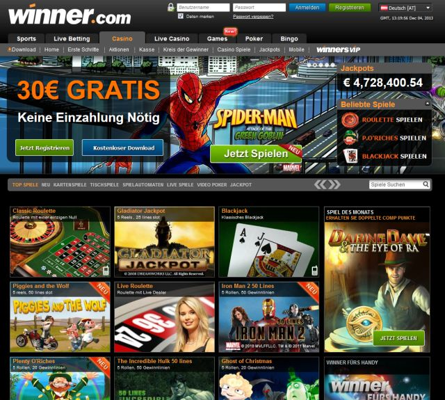 online casino winner internet casino deutschland