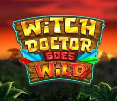 Witch Doctor goes Wild Logo