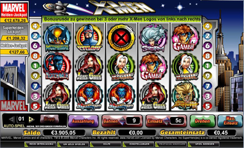 x men online slot im intercasino