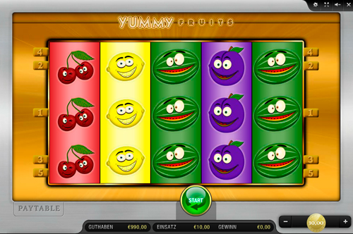 play online casino spiele fruits