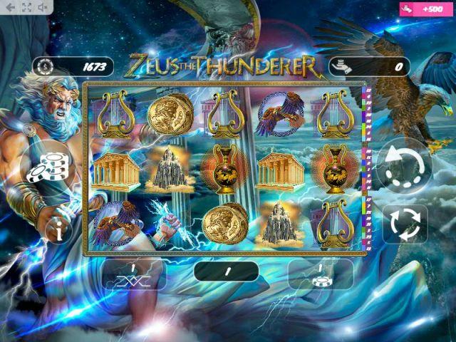 Zeus the Thunderer Spielautomat